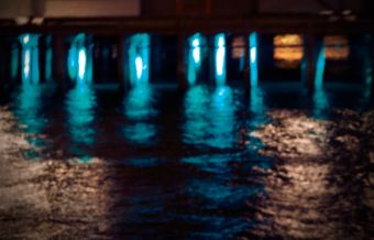Liquid Blue Night